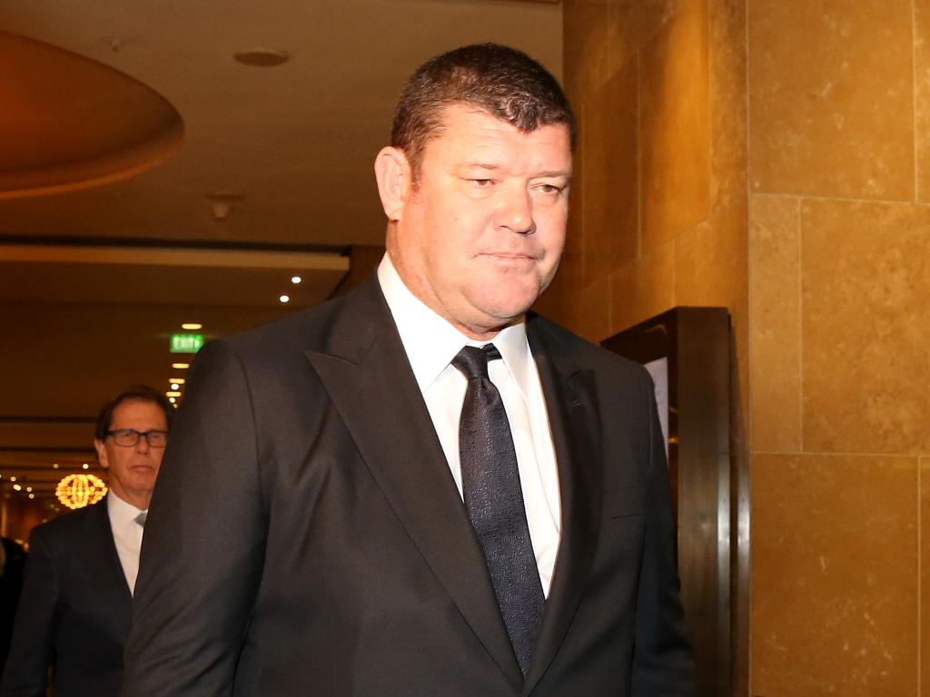 James Packer's Crown has won its case with Lendlease. Picture: Stuart McEvoy