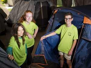 Camping at Pure land