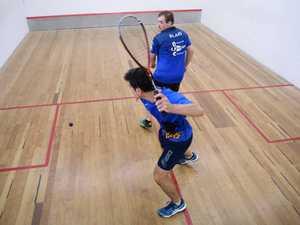 Squash: Michael McCoombes and Blake Hite.
