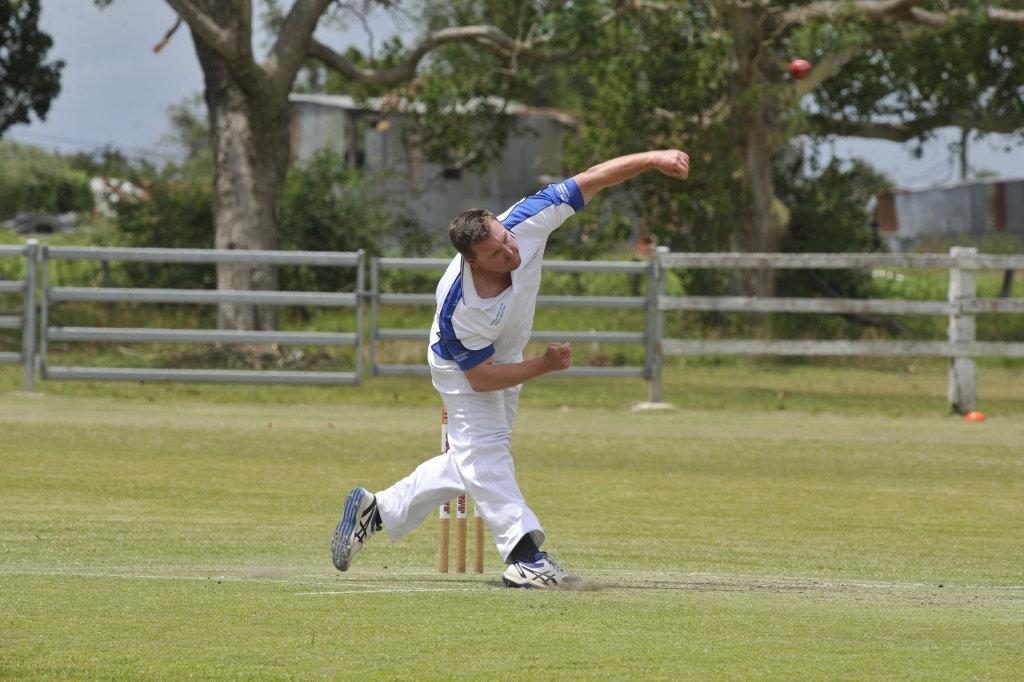 Image for sale: Tucabia-Copmanhurst's Rowan Hackett in a clash between Tucabia-Copmanhurst Cricket Club and GDSC Easts at Ulmarra on Saturday, December 15.
