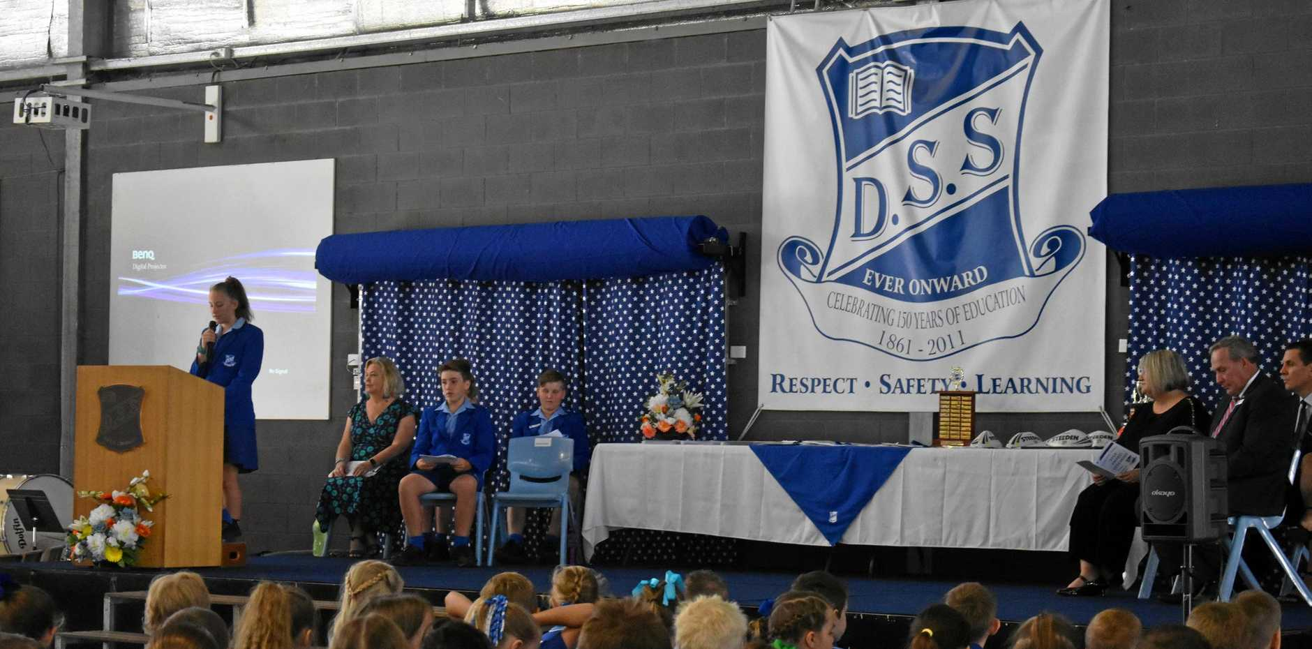 Students from Prep to Year 6 were involved in the Dalby State School awards morning on Thursday, December 6.