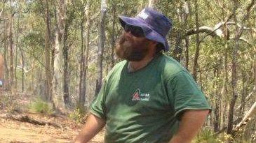Brendan Attard spent days fighting fires in Eungella.