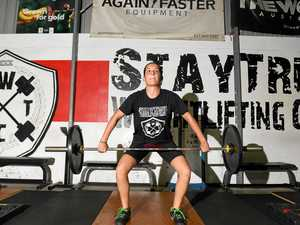 Gympie weightlifter aiming to break the glass ceiling