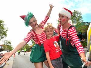 Santa helps open Caloundra's fresh new CBD