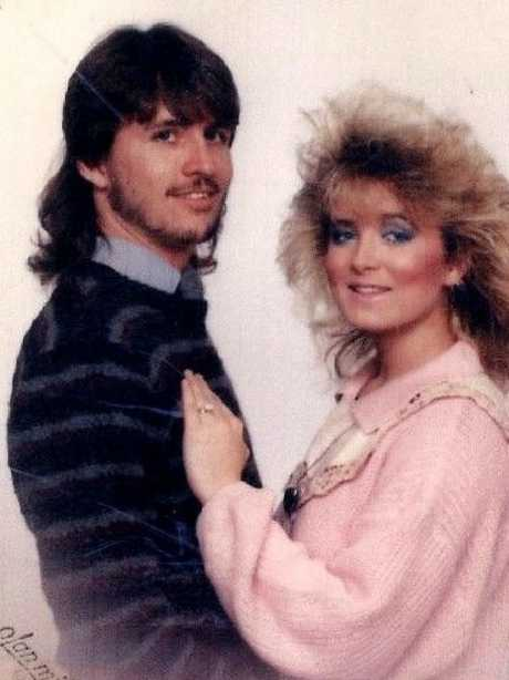 Darlie Routier and former husband Darin.