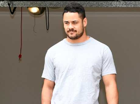 NRL star Jarryd Hayne is accused of sexual assaulting a woman. Picture: Tracey Nearmy