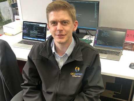 Acusensus managing director Alexander Jannink whose company developed the cameras.