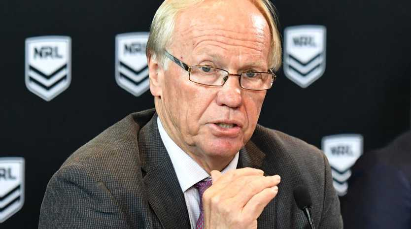 "NRL boss Peter Beattie said the accusations of violence against woman are ""killing"" rugby league. Picture: AAP/Mick Tsikas"