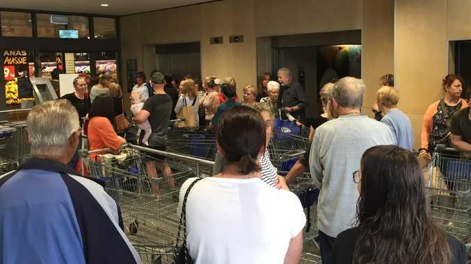 It has been a crazy morning at Aussie Aldi stores.