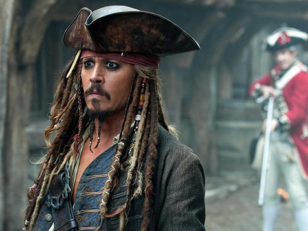Depp felt a strong affinity with his now retired Jack Sparrow character.