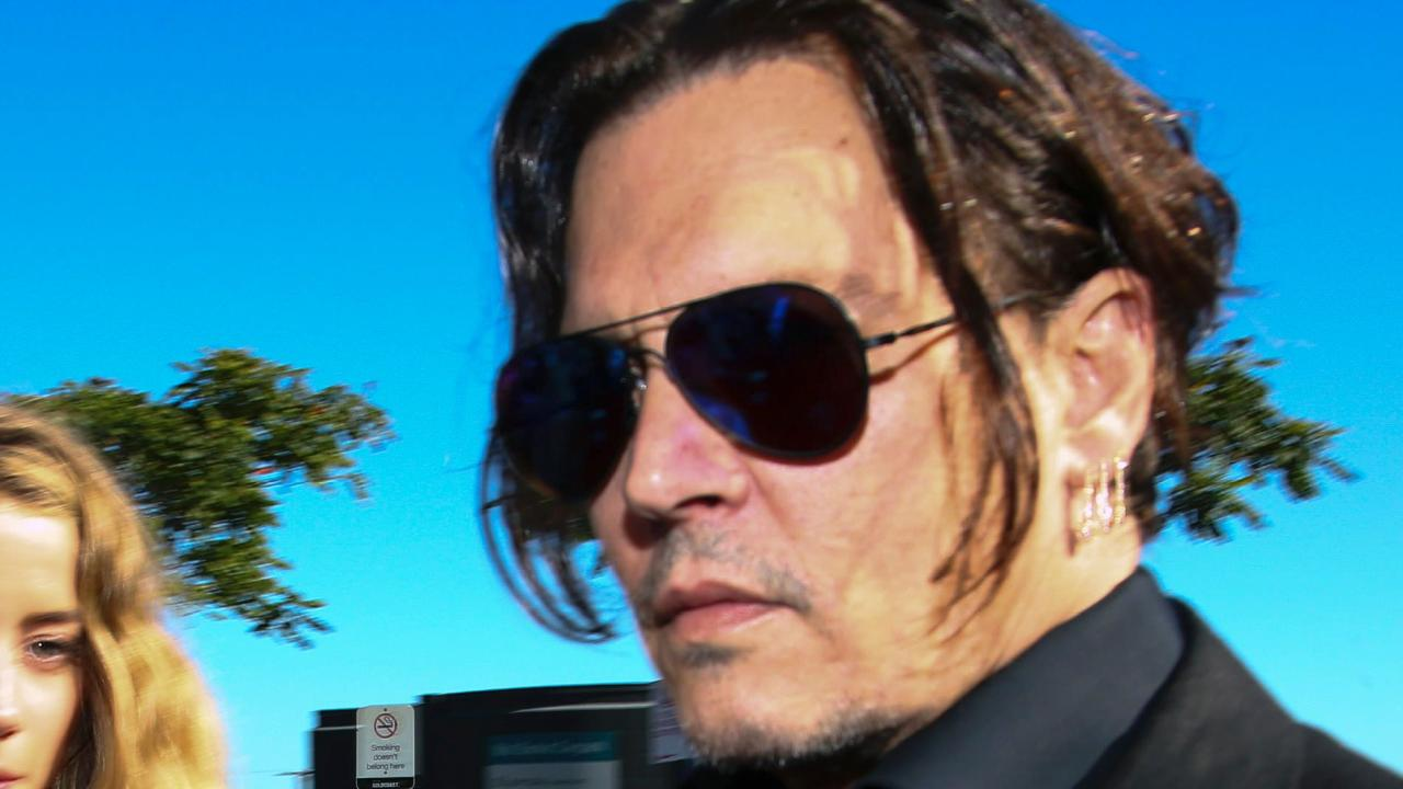 It has been a tough year for Johnny Depp. Picture: Patrick Hamilton