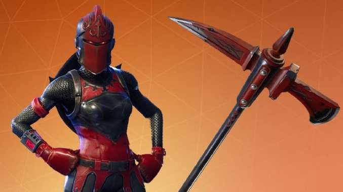 Red Knight from Fortnite, one of the world's most popular games.