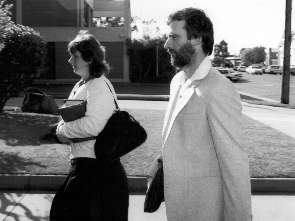 Leanne Reichenbach with husband John.
