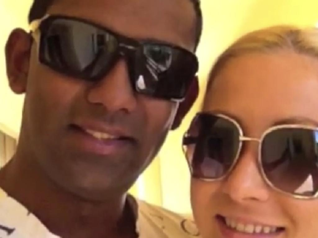 The pair posing in a YouTube video while they were in Mexico. Source: YouTube