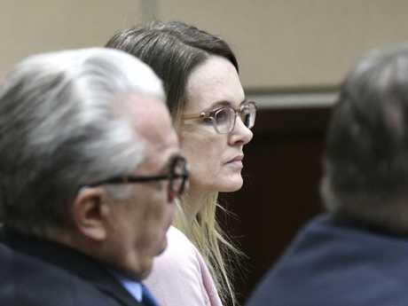 Denise Williams sits in court. Picture: Alicia Devine