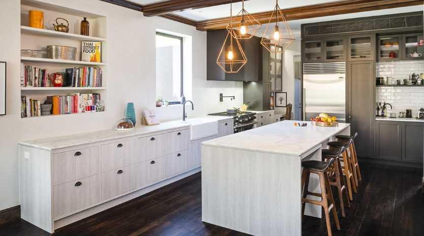 This kitchen won Let's Talk Kitchens & Interiors an HIA award for best large kitchen renovation in 2017. Picture: Let's Talk Kitchens & Interiors