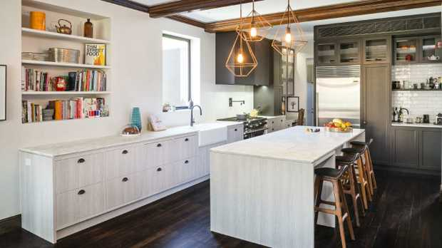 This kitchen won Let's Talk Kitchens & Interiors an HIA award for best large kitchen renovation in 2017. Picture: Let's Talk Kitchens & Interiors