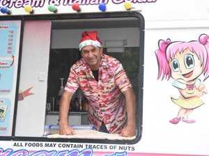 Toogoom Christmas Fair 2018 - Max Lancaster in his