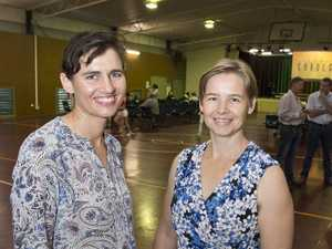Lourensia Lubbe (left) and Lydia Nugteren at Glenvale