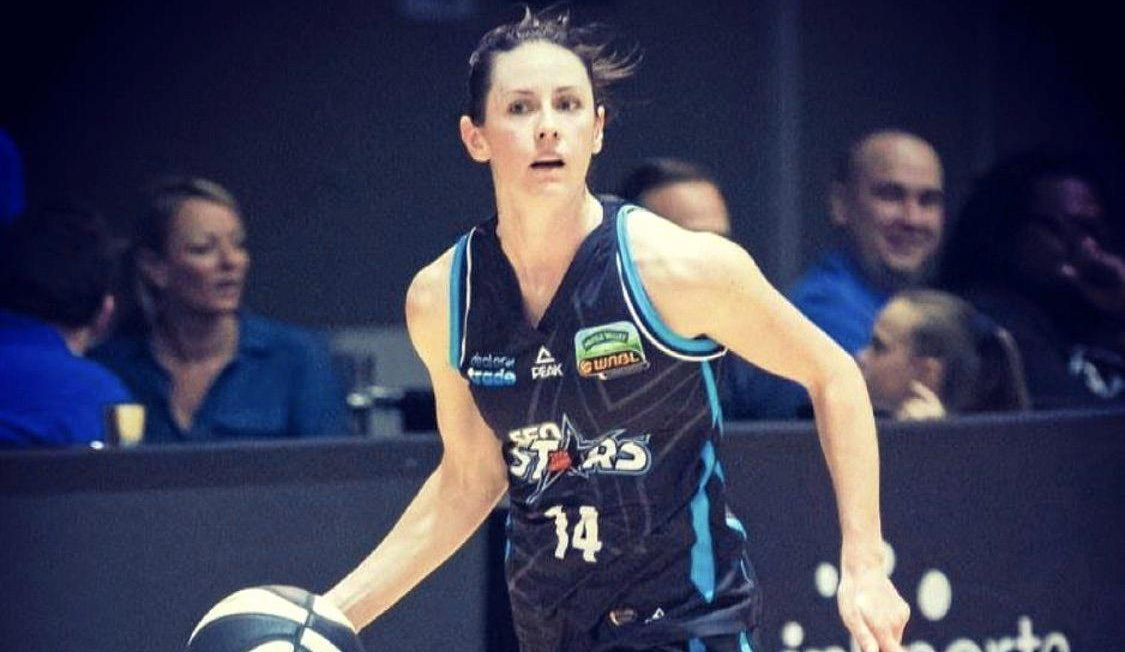 Ipswich Force 2019 basketball recruit Amy Lewis.