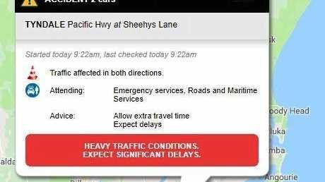 UPDATE: Heavy delays expected after highway crash