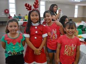 GALLERY: Food and fun at the Filipino Christmas party