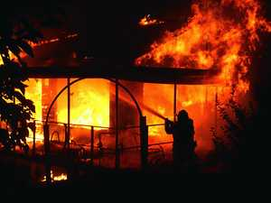 Home destroyed in Gympie, man escapes inferno