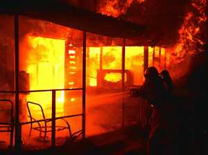 VIDEO: Gympie house destroyed in blaze