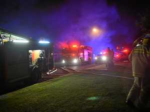 House fire on Main Street, Gympie
