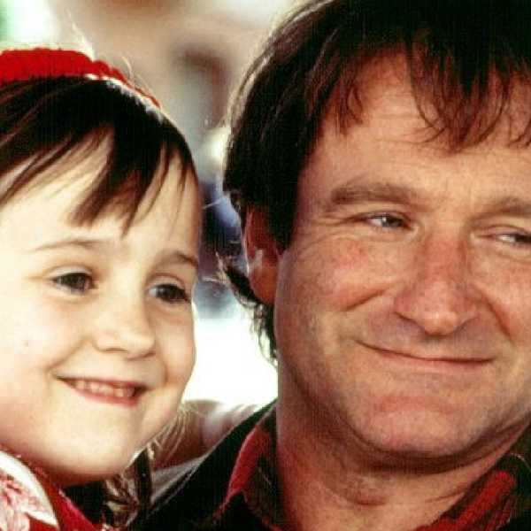 Robin Williams and Maria Wilson captured hearts in Mrs Doubtfire.