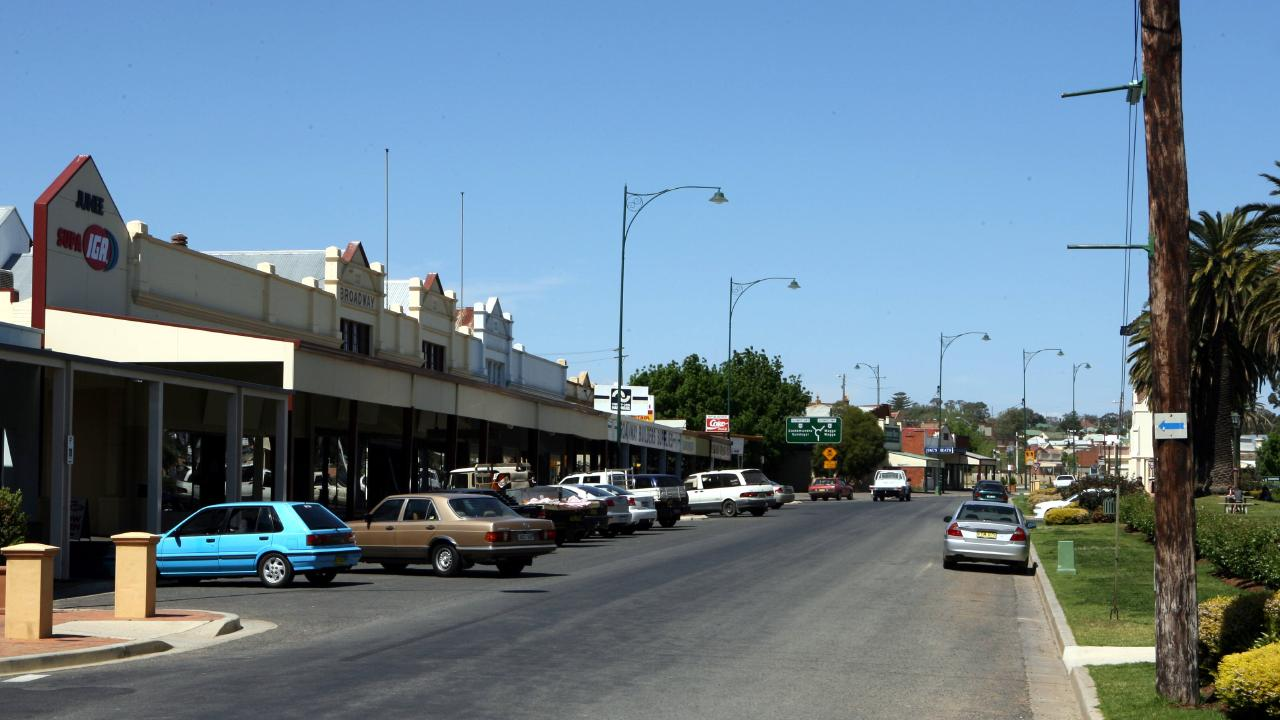 The main street of Junee, in south-west NSW.
