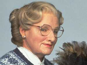 Mrs Doubtfire's shock X-rated moment