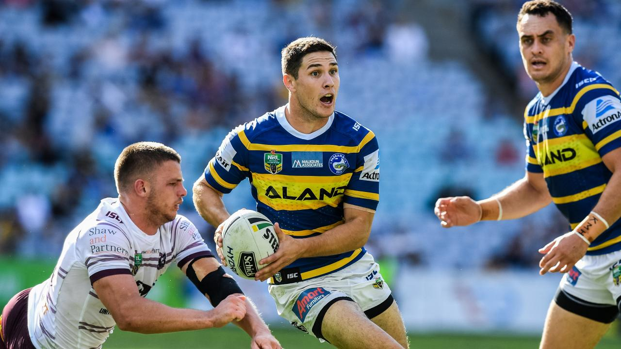 Mitchell Moses has vowed to revive his running game in 2019. Picture: AAP