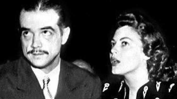 PIRATE: Howard Hughes with actress Ava Gardner in 1946.