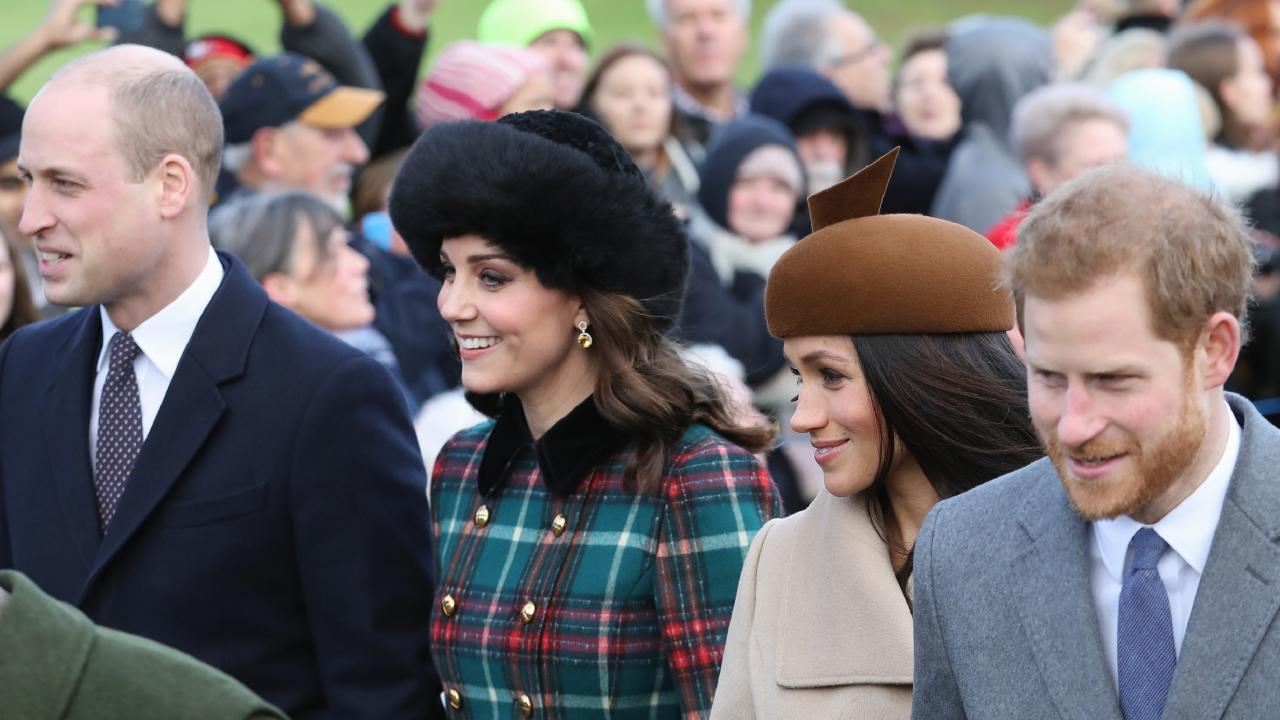 The Duke and Duchess of Cambridge and the Duke and Duchess of Sussex will spend Christmas Day together, with the Queen. Picture: Chris Jackson / Getty Images.