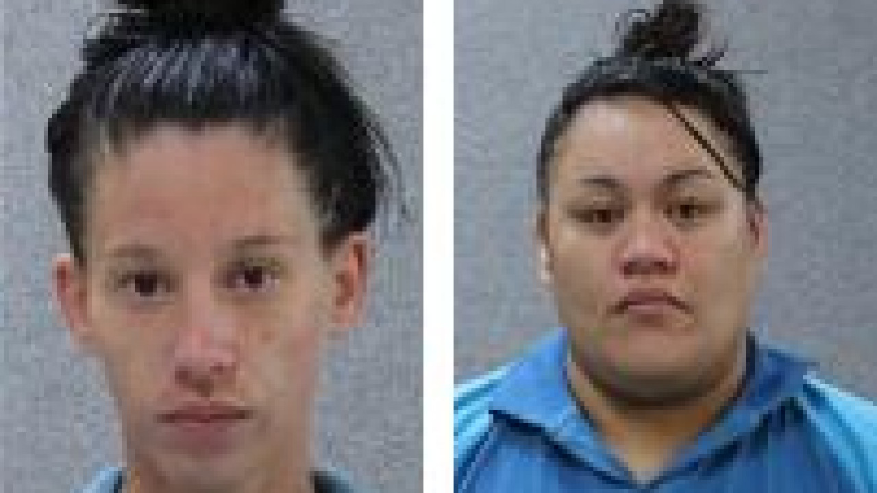 Jade Hucman, 26, and Chloe Peterson, 27 who are prisoners at the Helana Jones Community Correctional Centre in Albion, were reported missing from the centre around 10pm.