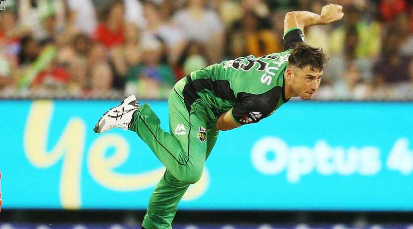 Marcus Stoinis is racing to be fit for the Stars BBL season opener. Picture: Getty Images