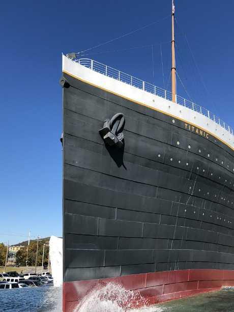 The impressive Titanic Museum.