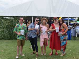 The fun and funky Fashion on the Fields contestants