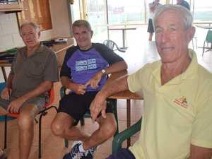 Greg Hampson, Dennis Biggs and Murray Irvine.