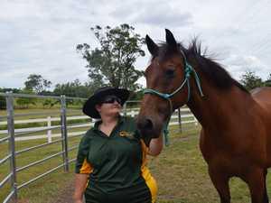 HARDWORKER: Alison Rose, 33, has earned Sam's trust