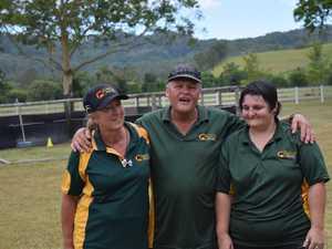 PROUD: Horsetalk owners Joyce Corbett and Steve
