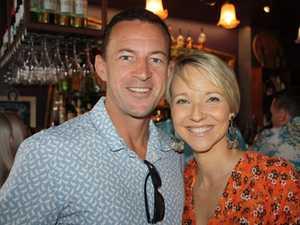 Paul McHugh and Amber Werchon at the Amber Werchon