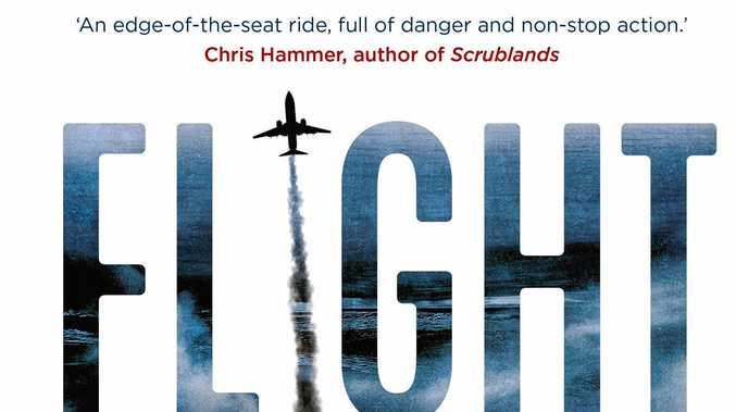 NEW BOOK: Australian author Michael McGuire's debut novel, Flight Risk.