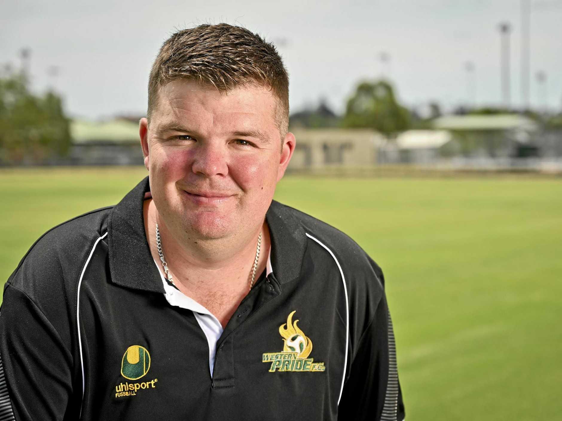 Western Pride Junior Coach Andrew Catton.