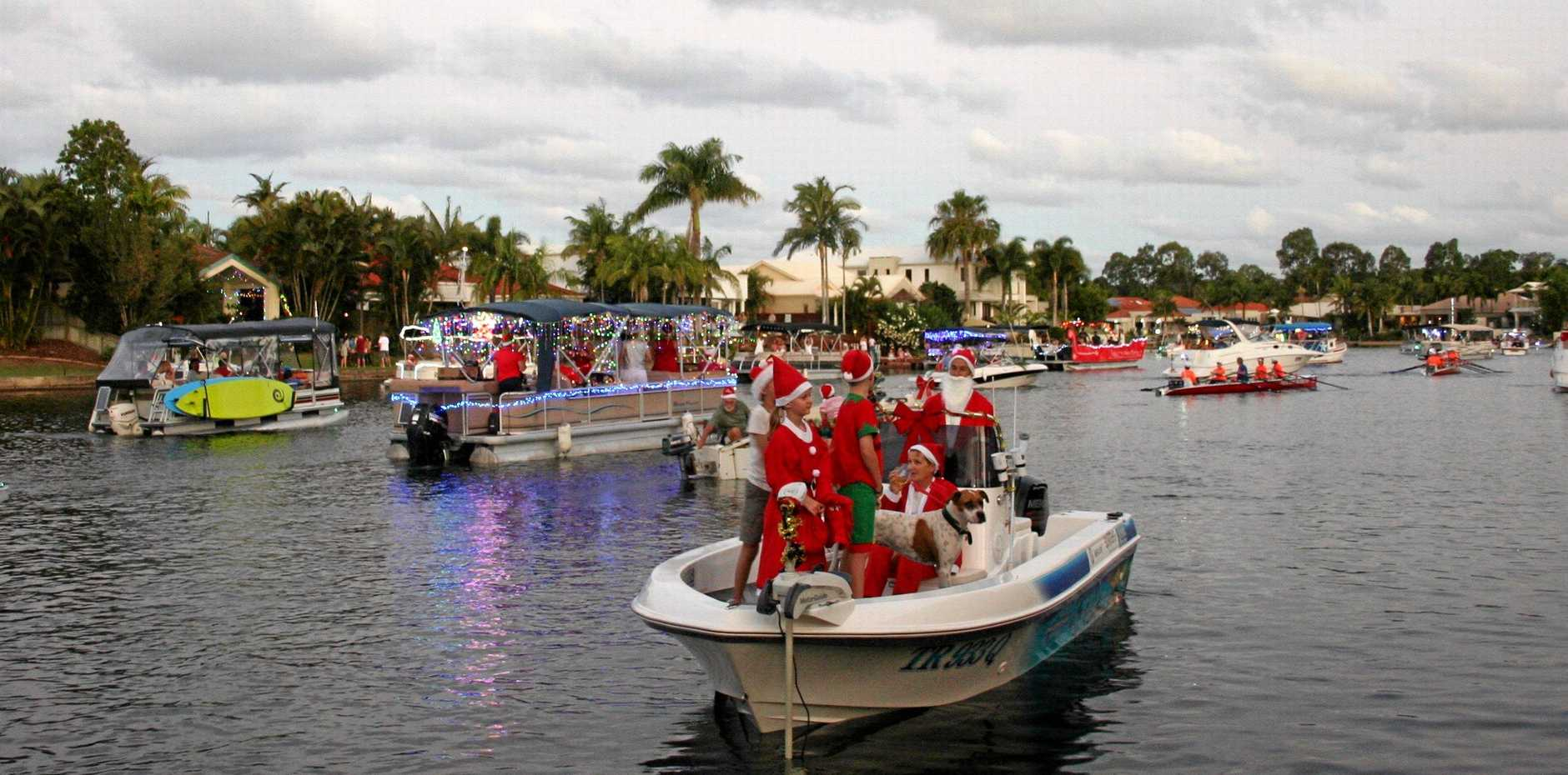 FABULOUS: The spectacle of the Noosa Waters Christmas Flotilla.