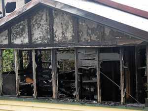 Fire destroys Main St Property