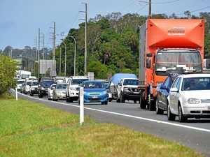 Blown tyre causes crash, sparks motorway mayhem
