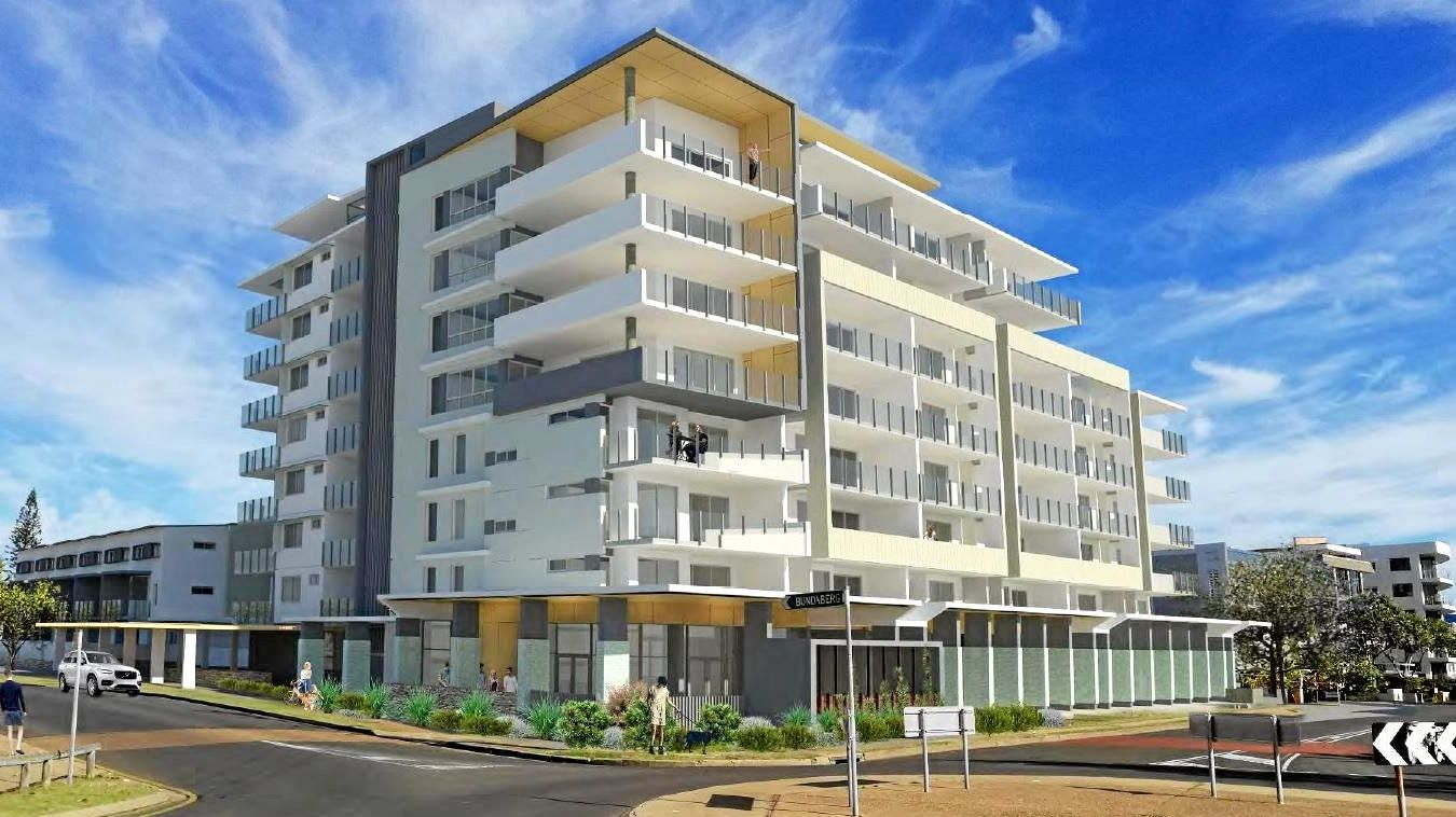 JEWEL: Artist's impressions of the proposed Jewel high-rise on the Bargara esplanade.