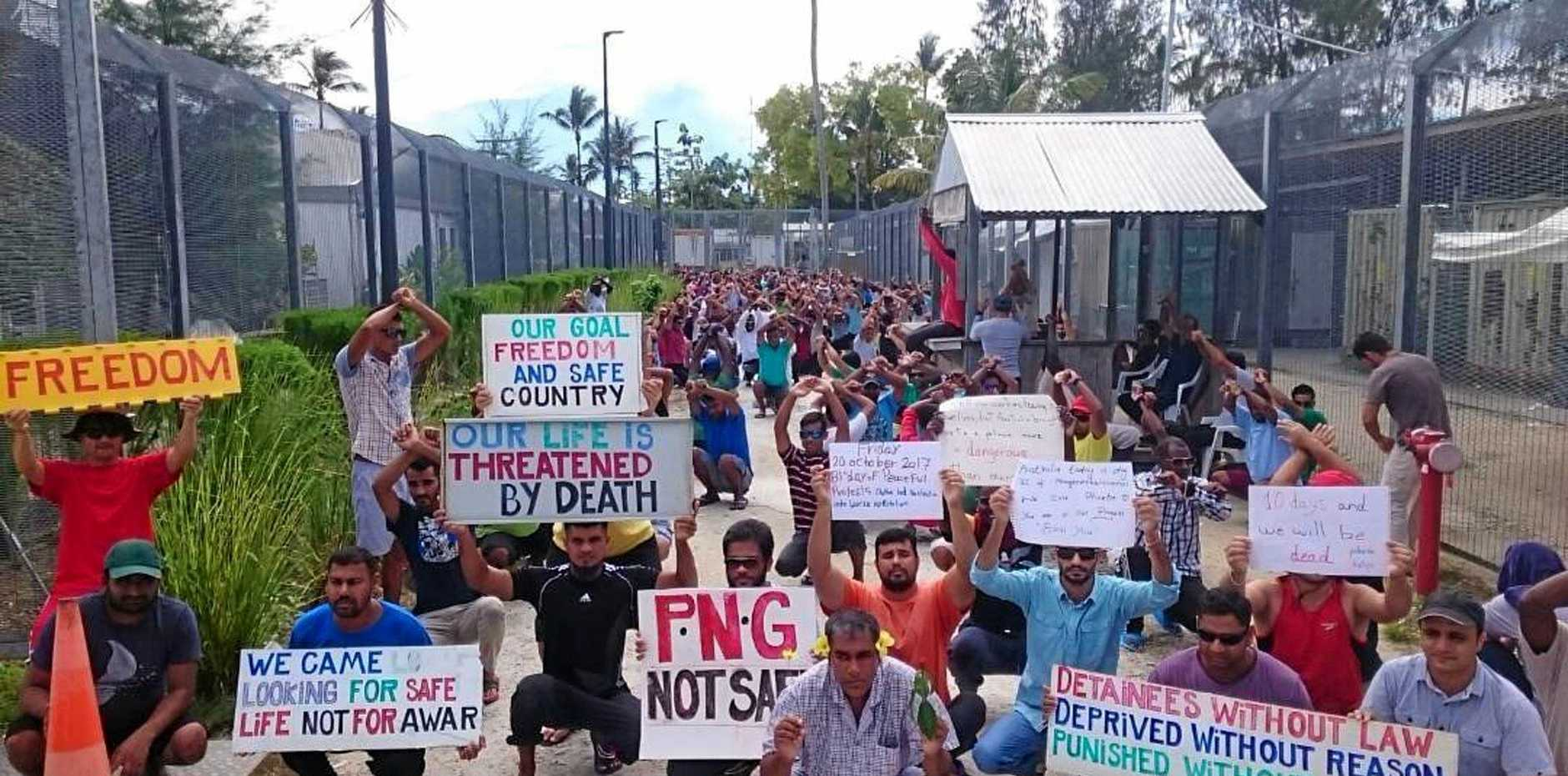 Manus Island security staff's shocking pay
